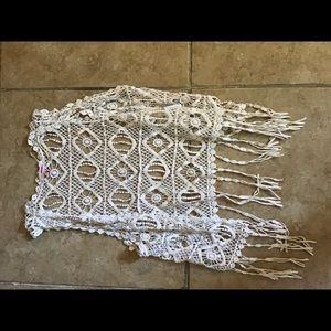 Crochet vest size small